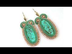 Soutache tutorial - kolczyki Best soutache tutorials ever Soutache Pendant, Soutache Jewelry, Beaded Earrings, Beaded Jewelry, Soutache Tutorial, Macrame Tutorial, Diy Jewelry Tutorials, Jewelry Crafts, Imitation Jewelry
