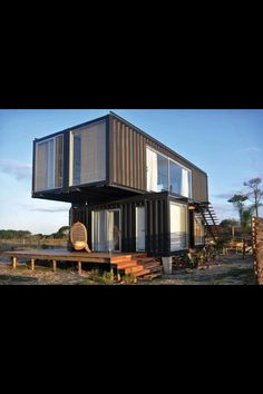 Shipping container home -Sick as, i want this -The Saint