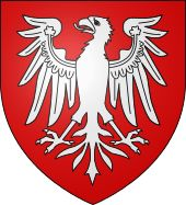 Coat of arms of the county of Burgundy before c. 1280