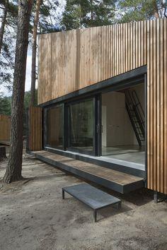 Gallery - Lake Cabin / FAM Architekti + Feilden+Mawson - 10