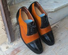 Leather Cap, Cowhide Leather, Leather Heels, Cow Leather, Real Leather, Leather Shoes Brand, Handmade Leather Shoes, Oxford Brogues, Oxford Shoes