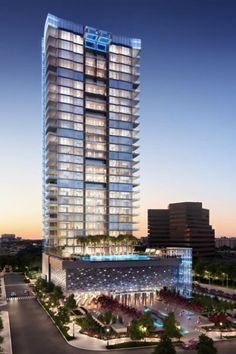 Ground will break this fall on the first high-rise condominium building in Dallas since the end of the recession
