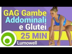 Allenamento GAG HIIT per Dimagrire Pancia, Cosce e Glutei - 35 Minuti - YouTube