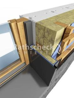 Makeup and Age - Populer Diy House Cladding, Timber Cladding, Isolation Facade, Passive House Design, Detail Architecture, Home Insulation, Farmhouse Renovation, Roof Trusses, Modern Tiny House