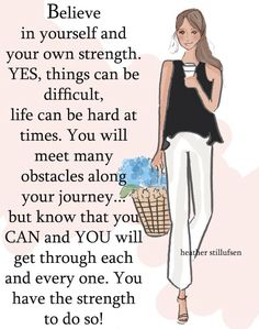 Rose Hill Designs by Heather Stillufsen Great Quotes, Me Quotes, Motivational Quotes, Inspirational Quotes, Qoutes, Quotations, Positive Quotes For Women, Positive Thoughts, Positive Life