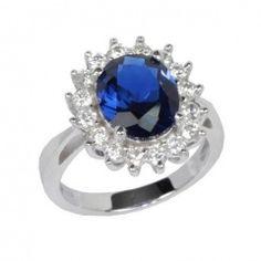 Stříbrný prsten princezny Kate