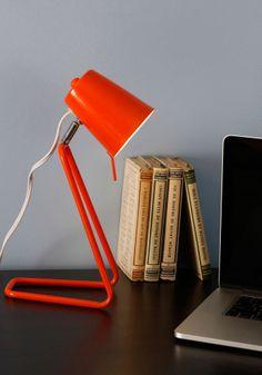 Guiding Spotlight Desk Lamp   Mod Retro Vintage Decor Accessories   ModCloth.com