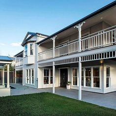 A Classic Coastal Home Complete With Weatherboard Cladding.