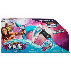 Nerf Rebelle Dolphina Bow Soaker | Toys R Us Australia