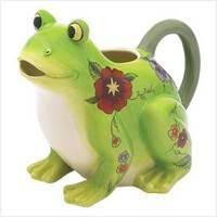 Floral Frog Pitcher $15.00