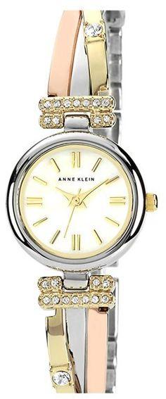 Anne Klein Round Bangle Watch
