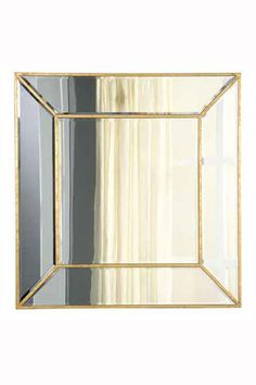 Elegant Lighting Manhattan Gold and Clear Mirror [MR2-1001GC]