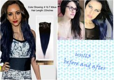 5 Inspired Updo Hair styles 2014 with Remy Human Hair Extensions - black ombre hair styles
