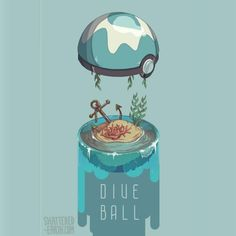 """shattered-earth: """" Updating post with Cherish and Dive Ball! Gonna debut them at OTAKON 2016 All of them will be available for purchase at cons EXCEPT the premier ball which will be free if and only. Pokemon Fan Art, My Pokemon, Pokemon Fusion, Pokemon Legal, Japan Kultur, Pokemon Pictures, Catch Em All, Grafik Design, Digimon"""
