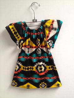 littlefour southwestern toddler peasant by littlefourclothing, $35.00