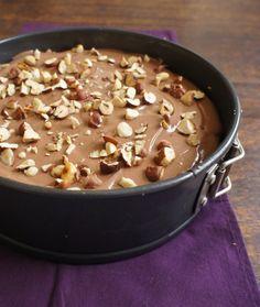 comida de quinta: cheesecake de nutella
