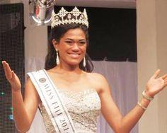 Miss World Fiji 2014 winner is Charlene Tafuna'I