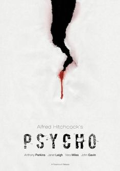 Psycho Movie Poster v2 by TheMadmind.deviantart.com on @DeviantArt