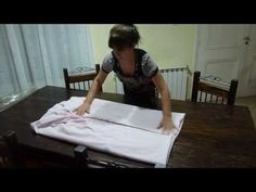 ▶ Aprendiendo a doblar la sabana ajustable - YouTube