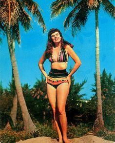 Vintage Tropical Swinsuit