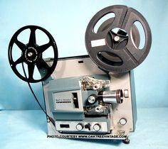 """Movie projector of the and We'd be sitting in the movie theater & the film would jam or get twisted. Everyone would """"awww""""; then wait until they fixed it. Sweet Memories, Childhood Memories, Nostalgia, 8mm Film, Movie Projector, I Remember When, Good Ole, The Good Old Days, Old Movies"""