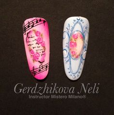 #nailart #nail #micropainting #unghie #gel #passione #tip #prove