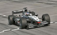 Kimi Raikkonen, Sepang 2003, McLaren MP4/17D... 1st F1 win for Kimi