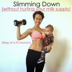 Slimming Down Without Hurting Your Milk Supply