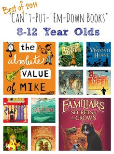 "Fabulous list of books that kids just ""can't put down"" - Offered for free on Imagination Soup."
