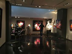 Downstairs in Galerie Bartoux
