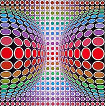 Dyss by Victor Vasarely More