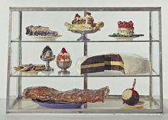 """Pastry Case I"" (1961-62) - Claes Oldenburg"