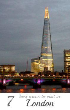 Shard London Bridge. Londres, Inglaterra. A través de un sofisticado uso de los cristales, este pasmoso rascacielos plantea expresivas fachadas de planos inclinados que sirven para reflejar la luz y los cambios en las pautas del cielo, de modo que la forma del edificio cambiará de acuerdo al clima y las estaciones. Arquitecto: Renzo Piano (Italia).