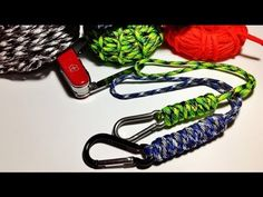 How to make / tie wrist paracord lanyard with the Snake Knot ( Tutorial ) - YouTube