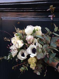 アネモネのブーケとパリにオープンした一風堂|パリで花仕事