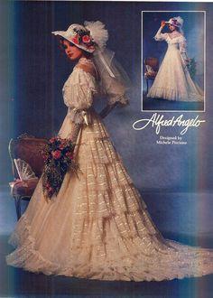 2330549b08 1980s bridal - Yahoo Image Search results 1980s Wedding Dress