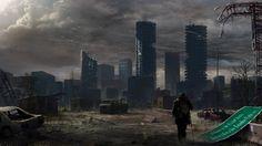 Ciencia Ficción Escenario Apocalíptico  Fondo de Pantalla