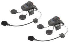 Sena SMHD-01 Low-Profile Motorcycle Headset/Intercom-Dual
