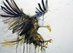 Dripping and Splattering Watercolor Paintings - My Modern Metropolis