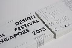 A Design Film Festival Singapore 2013 by Anonymous , via Behance