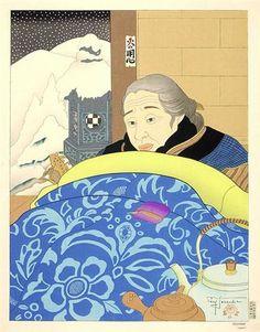 Decembre. Japon - Paul Jacoulet