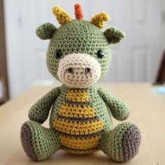 In this article we share amigurumi animal free crochet patterns. I wish you enjoyable knitting. Amigurumi toys are beautiful. Crochet Amigurumi, Amigurumi Patterns, Crochet Dolls, Knitting Patterns, Crochet Patterns, Amigurumi Toys, Amigurumi Tutorial, Knitting Ideas, Crocheted Toys