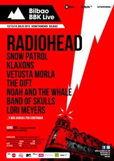 Bilbao BBK Live 2012 - Cartel Provisional - Festival de Música Indie