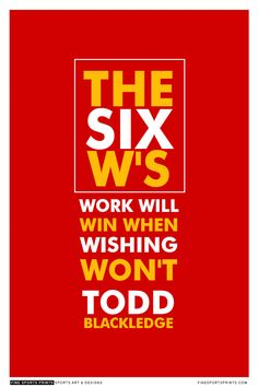 """""""Todd Blackledge Quote on Print. See more at www.finesportsprints.com #blackledge #sportsquote #chiefs"""""""