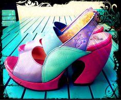 J Fluevog Prepares Hi - Spur Crazy Shoes, Weird Shoes, John Fluevog Shoes, Miz Mooz, Pretty Shoes, High Heels, Footwear, Platform, Pumps