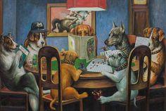 Kutya játszik «Dungeons & Dragons».  Kép száma 1.