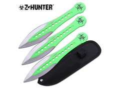 Zombie Flyer Throwing Knife Set