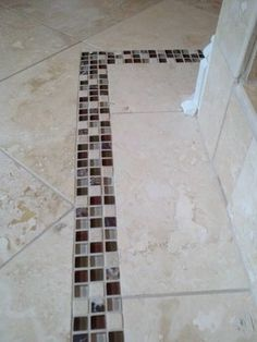 21 best Stone Tile Floor  Laundry Room  images on Pinterest   Floors     Stone   Tile Flooring floor tiles    LOVE the accent tiles