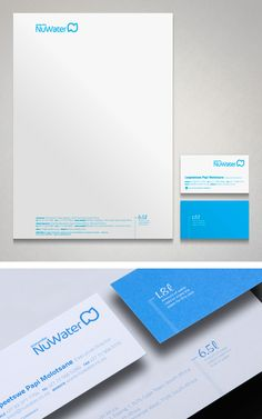 NuWater corporate identity design