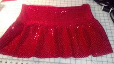 DIY Running Sparkle Skirt